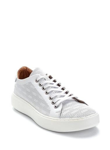 Derimod Erkek Ayakkabı(2056-5105) Sneaker Beyaz